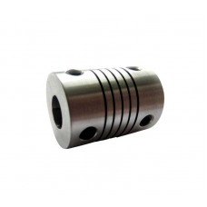 Flexible Aluminium Coupling for Shafts 5mm to 8mm [4L01]