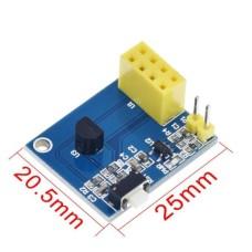 ESP01 ESP8266 DS18B20 Temperature Adapter [1L..]