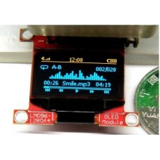 Yellow Blue Mono 128X64 OLED LCD  Display 0.96 I2C Red