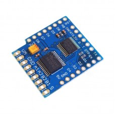 ESP8266 WeMos D1 Mini Motor Control Shield []