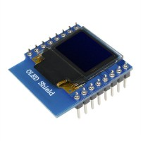 OLED Display 0.66 Shield for WeMos 64X48 I2C [pb84]