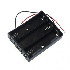 Battery Holder 18650 Lithium 3S with Wires [4Lxx]