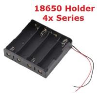Battery Holder 18650 4S 3.7Vx4 Li-Ion Lithium 14.8V [4Lxx]