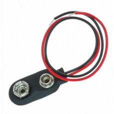 Battery Connector Clip 9V PM9 with 10cm Wires [4L31]