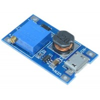 DCDC Boost Step Up Converter MT3608 28V 2A Micro USB