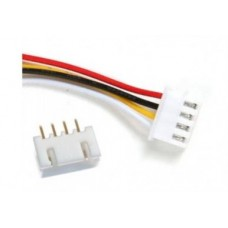 JST-XH 4 Pin Connector Male Female Pitch 2.5mm [1L98]