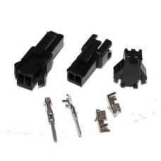 Connector JST SM 2 pin Terminal Plug Set