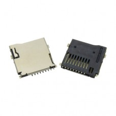 MicroSD Card Socket Connector Pop-out (ea) [pb101]