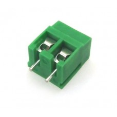 PCB Screw Terminal Block - 2 Pin Wire to Board Connector - 5mm Pitch - 126-2
