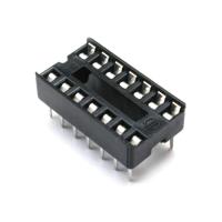 Holder IC Socket Plastic DIP14 [pb76]