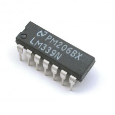 LM339 Quad Single Supply Comparator [A05]