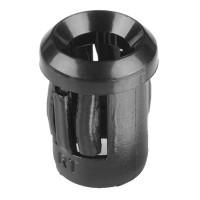 LED Holder 5mm Plastic Black