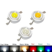 Light Emitting Diodes (LED) 8mm SMD 1W Clear