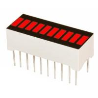 LED Bar Display Flat 10 Grid Red [pb99]