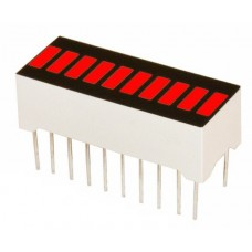 LED Bar Display Flat 10 Grid Red [pb99]