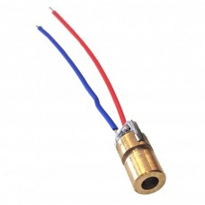 LED 6mm 650nm 3V DC Red Mini Laser Diode for Arduino [pbxx]