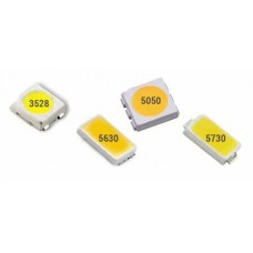 LED SMD Chip 5730 White 6000K 3.2V 150mA ½W 50lm [L12]