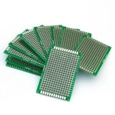 Prototype PCB 4cm x 6cm Double Sided (each)