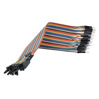 Dupont Wire Color Jumper Cable 2.54mm 1P-1P Male-Female 10cm (each)
