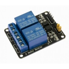 Relay 5V Coil 10A Opto Isolated Break Out 220V Dual