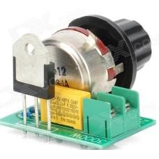Thyristor Electronic 220V AC Voltage Power Regulator - 3000W Adjustable