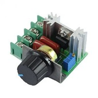AC 220V Voltage Regulator Dimmer Motor Speed Control 2000W (TRIAC)