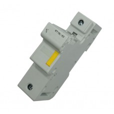 HOLDER 1P LOCK TYPE FOR 22x58 FUSE D/R MOUNT 20FH-RT18-125-1P