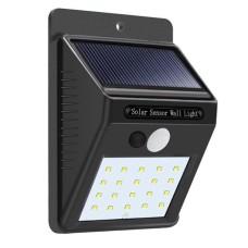 Solar Power LED PIR Motion Sensor Wall Light Outdoor
