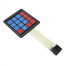 Membrane Keypad Matrix 4x4 16 Buttons