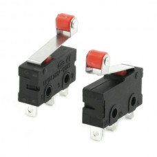 Push Button Micro Lever Roller Limit Switch [1Lxx]