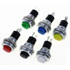 Momentary Push Button Non Latching 8mm Round [2Lxx]