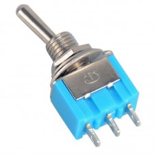 Switch SPDT Toggle 3p 6A 125VAC Miniature [1L..]
