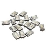 Switch Tactile Push Button SMD 6mm 2 Pin White [1L133]