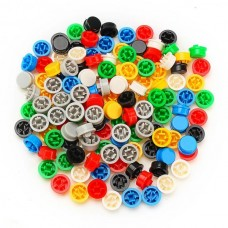Plastic Cap for Tactile Push Button Switch Colours [1Lxx]
