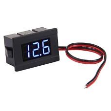 Voltmeter Voltage Meter DC 4.5V - 30V Small 3 Digit [4Lxx]