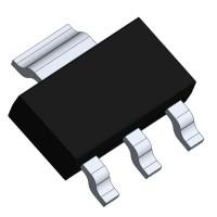 Voltage Regulator AMS1117 3.3V 1A SOT-223 [E25]