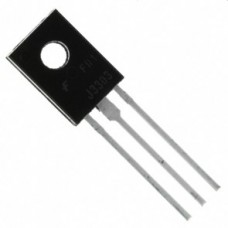 NPN BIPOLAR TRANSISTOR TO126 PACKAGE 30V 3A (used) [E20]